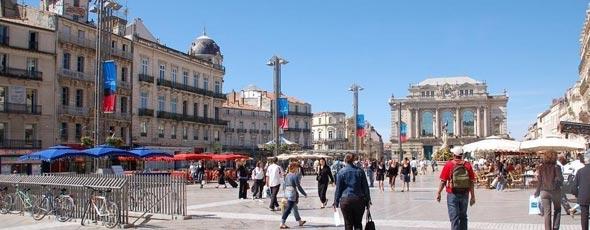 La citt di montpellier international language homestays for Montpellier citta