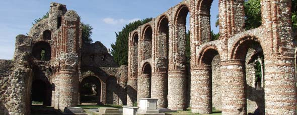 St Botolph's Priory Ruins in Colchester