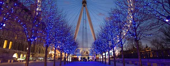 El ''London Eye'' - La Noria de Londres