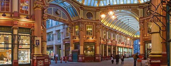 The Leadenhall Shopping Centre in London, UK