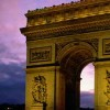The Arc de Triomphe, Paris
