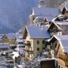 The town of Hallstatt