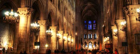 The Notre Dame in Paris, France