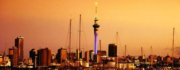 Auckland, a city in New Zealand