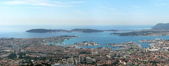 A view over Toulon