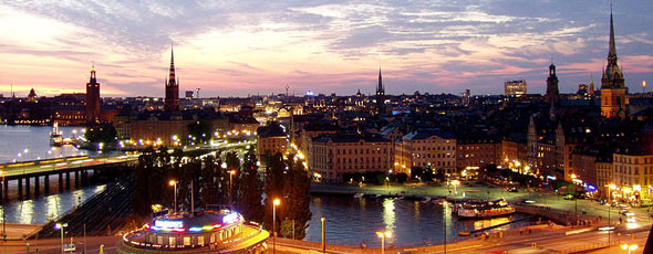 GamlaStan from Katarinahissen Stockholm by Oke, Wikimedia