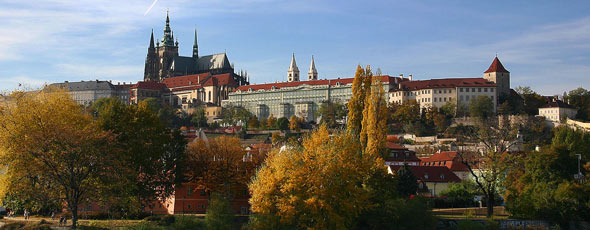 Prague Castle by Stefan Bauer