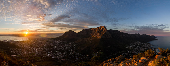 Cape Town sunrise by Daniel Manners
